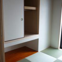 和室押入れ下の空間